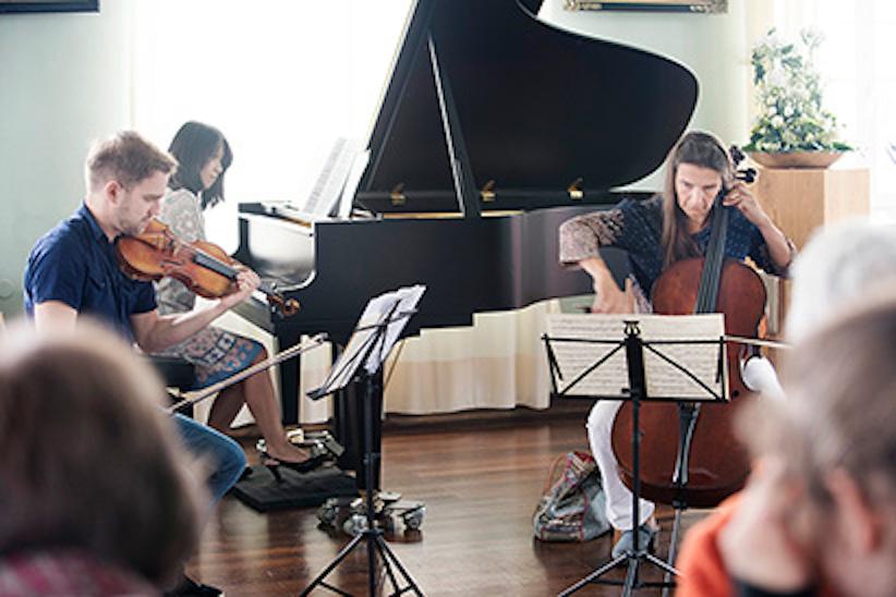 Stadtwerke Kamp-Lintfort - Kammermusikfest. Öffentliche Proben im Rokokosaal am Kloster Kamp - am Donnerstag, den 11. August 2016